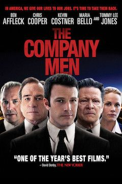 The Company Men movie poster.
