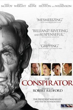 The Conspirator movie poster.
