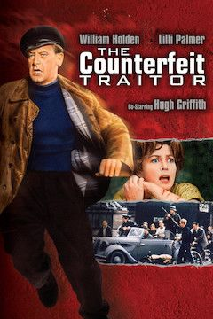The Counterfeit Traitor movie poster.
