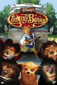 The Country Bears movie poster.
