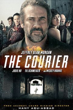The Courier movie poster.
