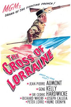 The Cross of Lorraine movie poster.