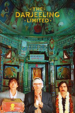 Poster for the movie The Darjeeling Limited