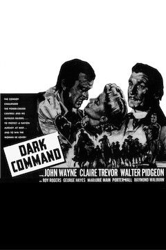 The Dark Command movie poster.