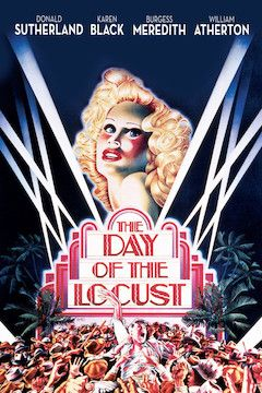 The Day of the Locust movie poster.