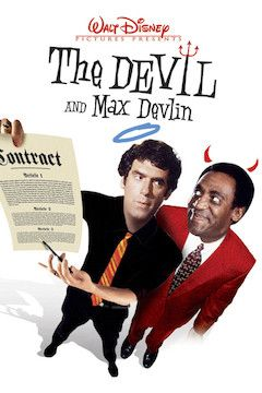 The Devil and Max Devlin movie poster.