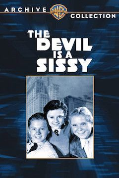 The Devil Is a Sissy movie poster.