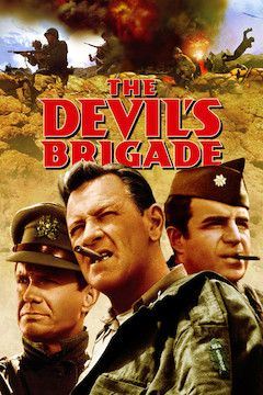 The Devil's Brigade movie poster.