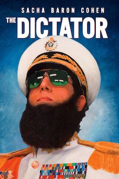 The Dictator movie poster.