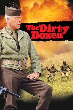 The Dirty Dozen movie poster.