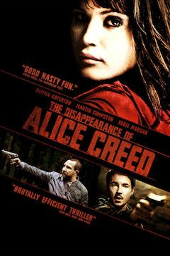 The Disappearance of Alice Creed movie poster.