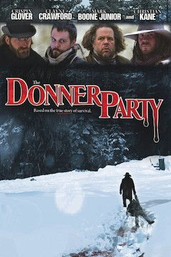 The Donner Party movie poster.