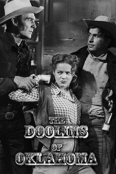 The Doolins of Oklahoma movie poster.