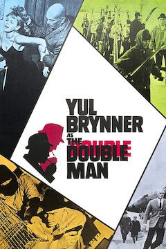 The Double Man movie poster.