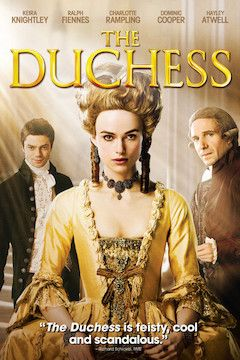 The Duchess movie poster.
