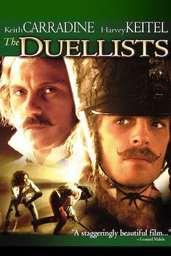 Poster for the movie The Duellists