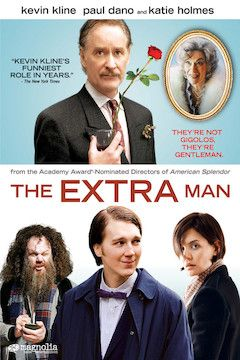 The Extra Man movie poster.