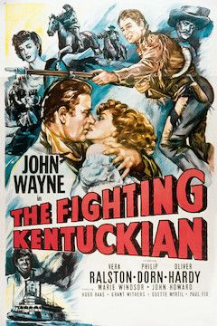 Poster for the movie The Fighting Kentuckian