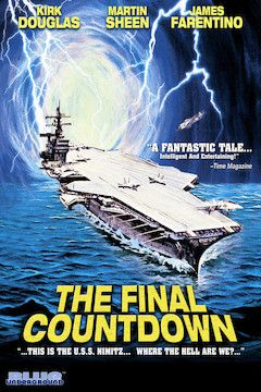 The Final Countdown movie poster.