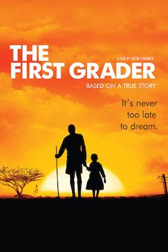 The First Grader movie poster.