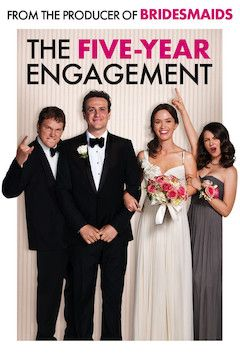 The Five-Year Engagement movie poster.