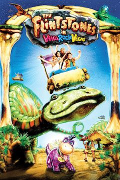 The Flintstones in Viva Rock Vegas movie poster.