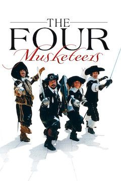 The Four Musketeers movie poster.