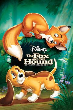 Poster for the movie The Fox and the Hound