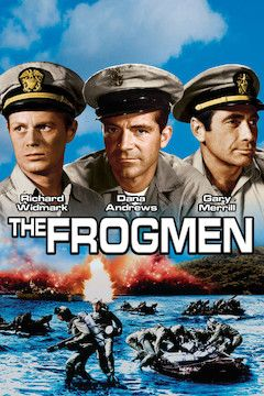 The Frogmen movie poster.
