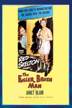 The Fuller Brush Man movie poster.