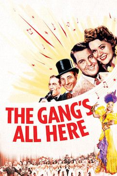 The Gang's All Here movie poster.