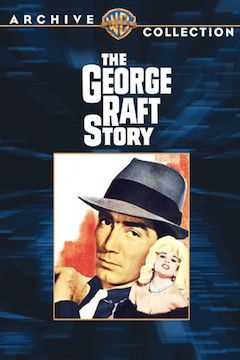 The George Raft Story movie poster.