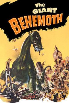 The Giant Behemoth movie poster.