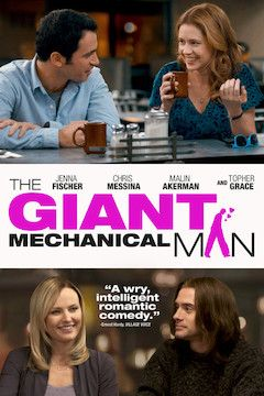 The Giant Mechanical Man movie poster.