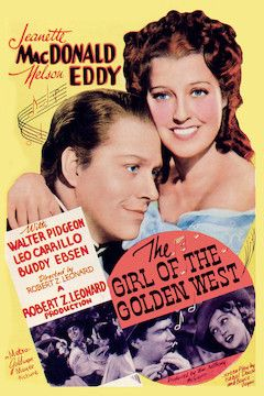 The Girl of the Golden West movie poster.