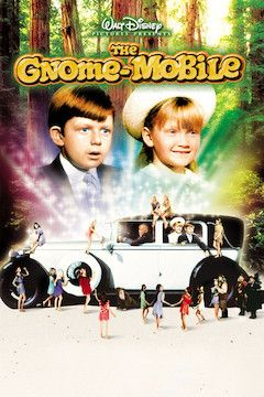 The Gnome-Mobile movie poster.