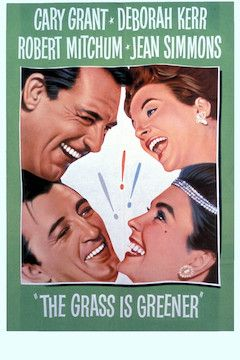 The Grass is Greener movie poster.