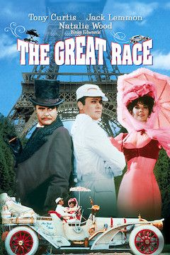 The Great Race movie poster.