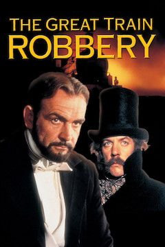 The Great Train Robbery movie poster.