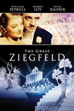 The Great Ziegfeld movie poster.