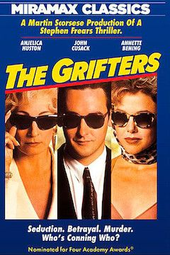 The Grifters movie poster.
