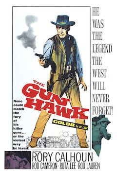 The Gun Hawk movie poster.
