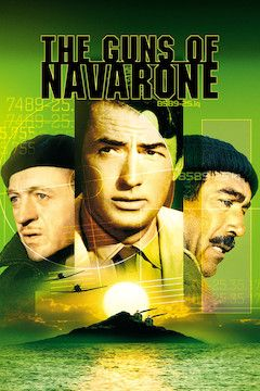 Poster for the movie The Guns of Navarone