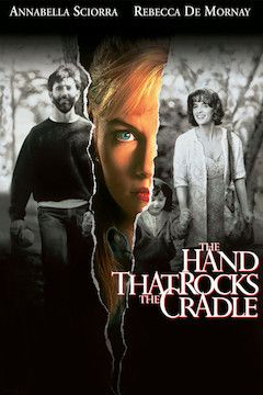 The Hand That Rocks the Cradle movie poster.