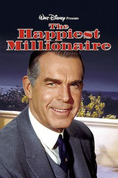 The Happiest Millionaire movie poster.