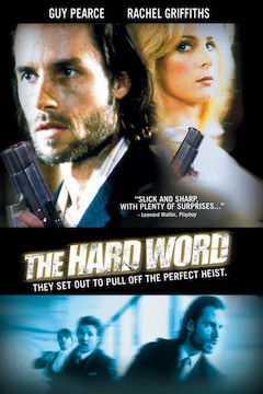 The Hard Word movie poster.