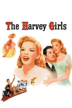 The Harvey Girls movie poster.