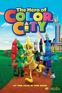 The Hero of Color City movie poster.