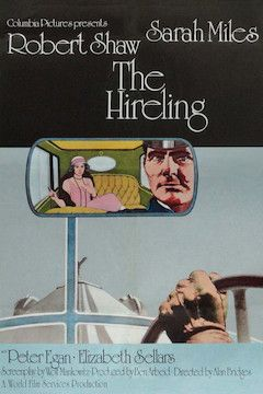 The Hireling movie poster.