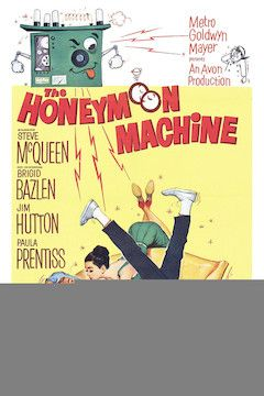 The Honeymoon Machine movie poster.